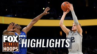 McClung's late jumper puts away Creighton, Georgetown gets narrow win | FOX COLLEGE HOOPS HIGHLIGHTS