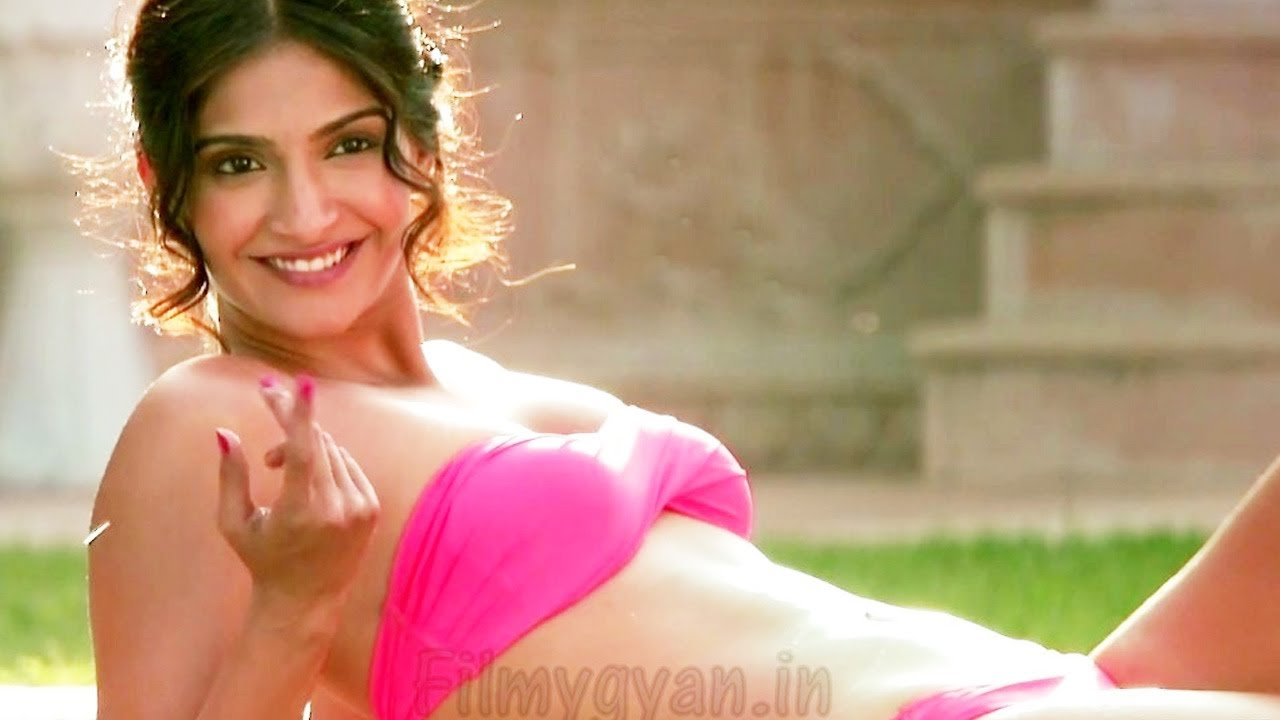 Sonam Kapoor In A Bikini -- Hot, Hot And Only Hot - Youtube-1632