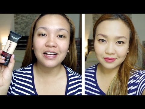 L'Oreal Infallible Pro Matte Foundation First Impression Review! | tagalog