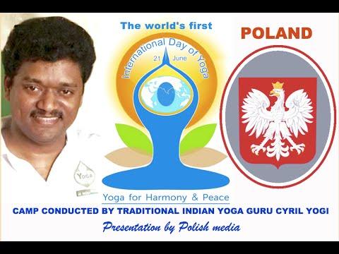 International Day of Yoga 2015 Cyril Yogi in Poland