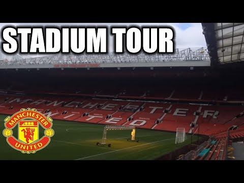 OLD TRAFFORD STADIUM TOUR! MANCHESTER UNITED!