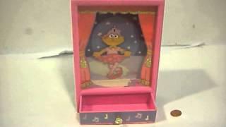 Sesame Street Musical Jewelry Box Ballerina Zoe