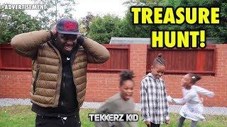 GIRLS vs BOYS  Garden Treasure Hunt Challenge!