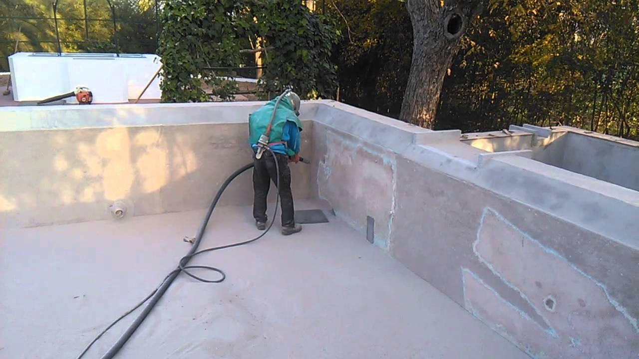 Limpieza con chorro de arena a presion piscina youtube - Piscina de arena ...