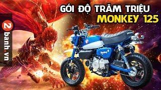 Honda Monkey 125 độ hơn trăm triệu đầu tiên ở Việt Nam | Review
