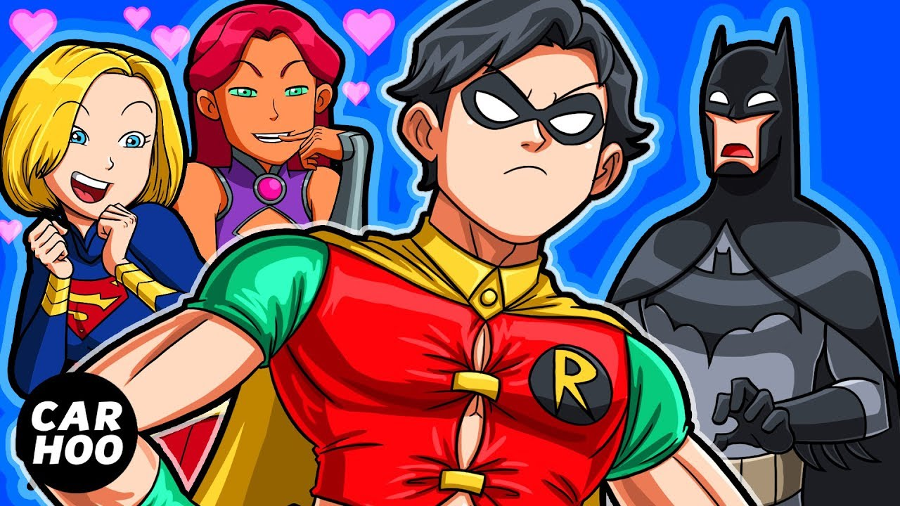 Download ROBIN WANTS A NEW COSTUME FROM BATMAN 【DC Superheroes Parody】