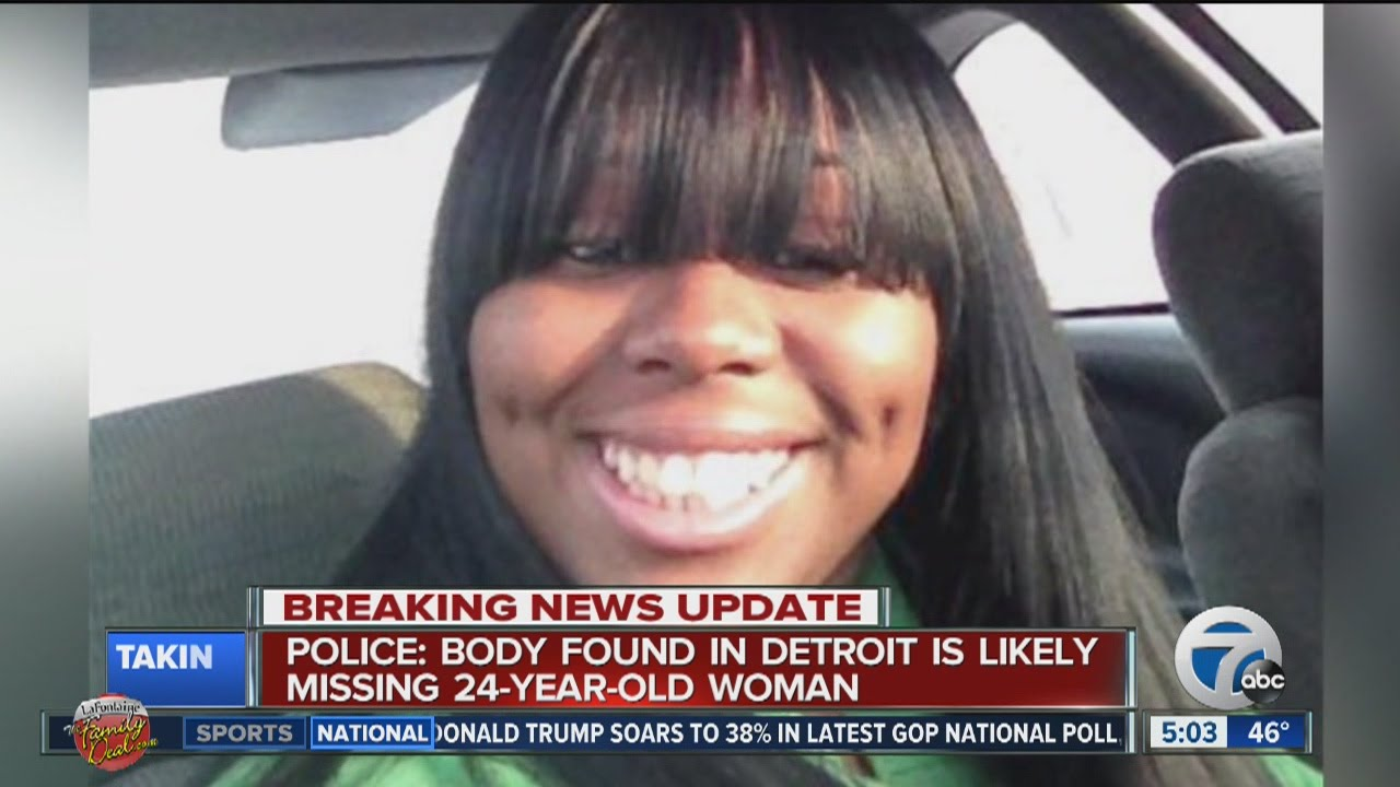 Detroit Backpage Com >> Police Body Found In Detroit Is Likely Missing 24 Year Old Woman