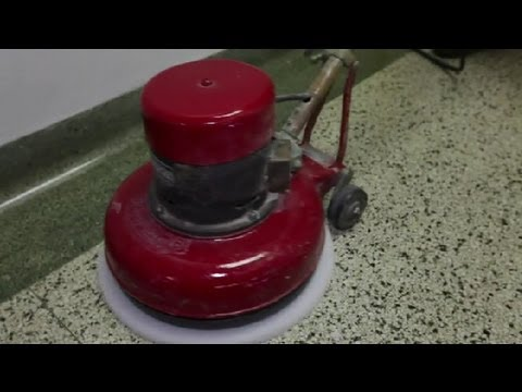 Difference Between Burnishing & Buffing Floors : Cleaning