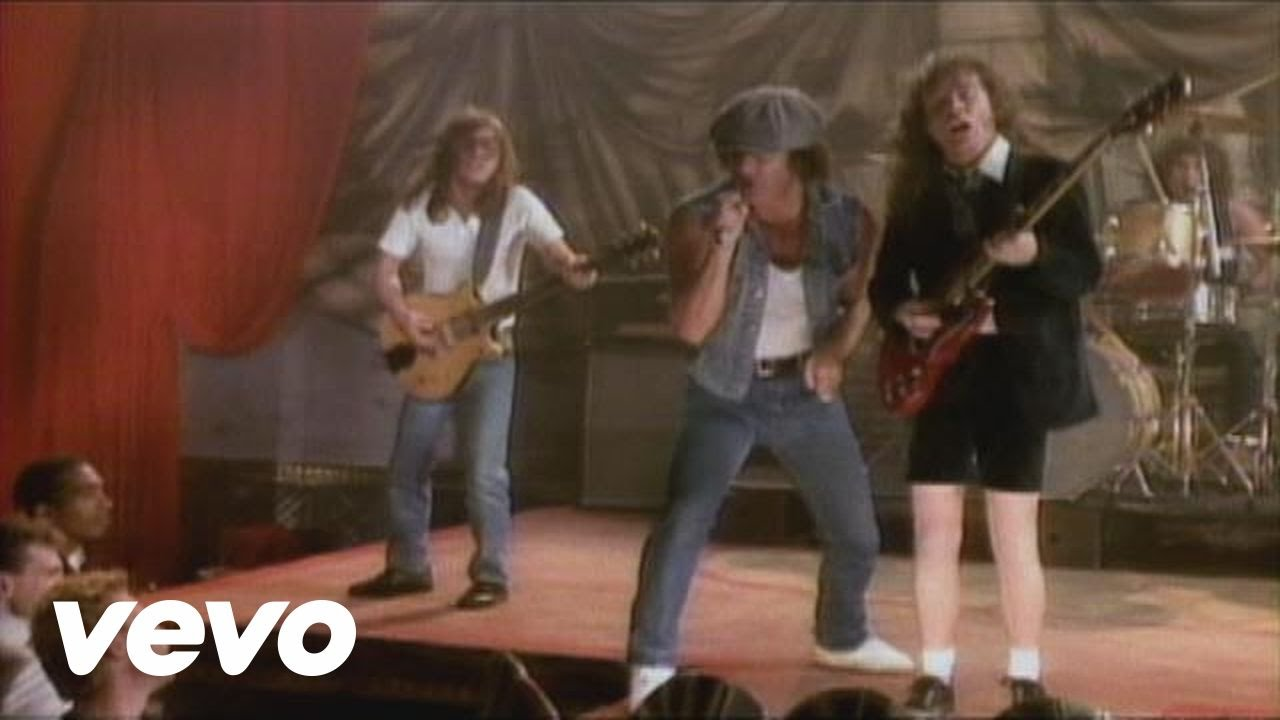 AC/DC - Danger (from Fly on the Wall Home Video)