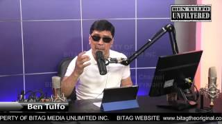 "BEN TULFO to DE LIMA: ""Shut up! Bitag ka na, humihirit ka pa!"""