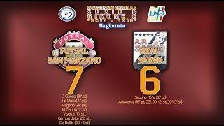 futsal san marzano real sarno 7 6 serie d gir e 2015 16 xi giornata