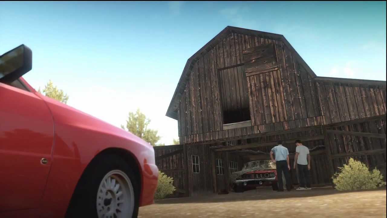 Forza Horizon Barn Find 1 Location Montano Plains