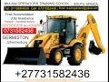 TLB Operator & certificate license training school LIMPOPO, Polokwane Durban, Johannesburg