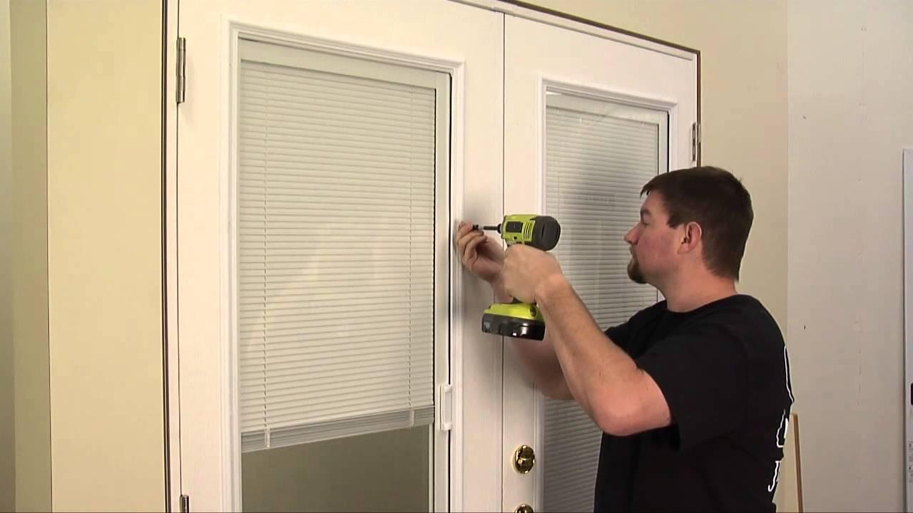how to reinstall mini blind operators