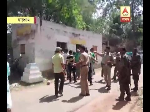 cpm party office ransack at west md jhargram