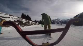 avoriaz snowscoot 2017