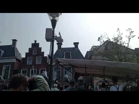 Day in Leeuwarden Netherlands on weekends may 28