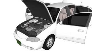 1995 Hyundai Avante 실내