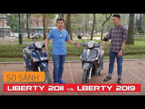 [So Sánh] PIAGGIO LIBERTY 2011 Và LIBERTY 2019   Whatcar.vn