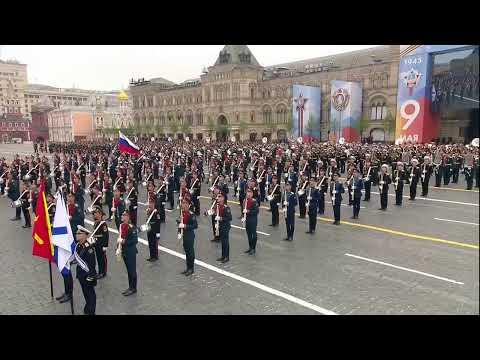 俄罗斯举行卫国战争胜利74周年阅兵(现场直播)