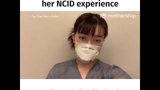 Chinese lady details her Covid-19 isolation at NCID Singapore