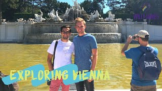 EXPLORING VIENNA | Travel Vlog | Will and James