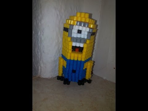 Kevin Stuart And Bob Minions Perler Beads By Gail Christie