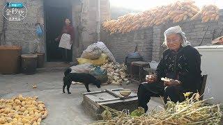 95歲老太太雖然仙逝了,但是這樣的早飯鏡頭令人難忘! 【盧保貴視覺影像】