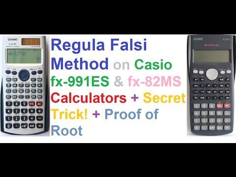 regula-falsi-method-on-casio-fx-991es-and-fx-82ms-calculators-+-secret-trick-+-proof!
