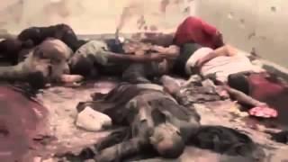 +18 Syrie   Idlib, Exécutions publiques, à Ma'arat Noman 8 10 2012