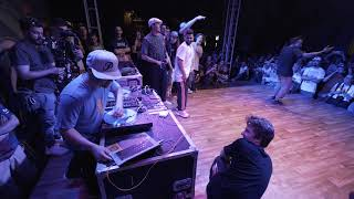 DJ QBert with the real hip-hop vibes at Street Masters 2019
