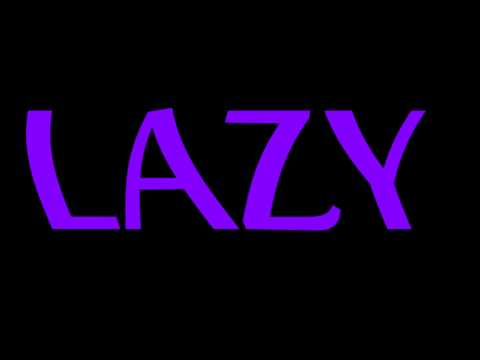 LAZY - Anton Scholl - The Lazy Song Original music
