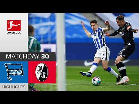 Hertha Berlin - SC Freiburg | 3-0 | Highlights | Matchday 30 – Bundesliga 2020/21