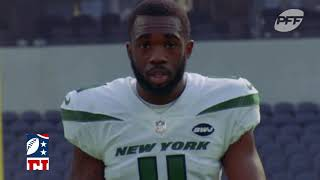 WR Denzel Mims Named PFF Offensive Breakout Player For 2021 | The New York Jets
