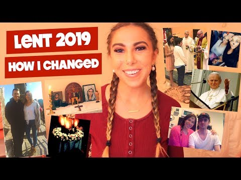 My INTENSE LENT 2019: WHAT I LEARNED!!