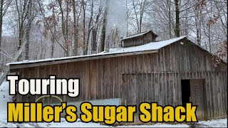 Touring Miller's Sugar Shack (100% Pure Maple Syrup)