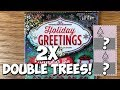 KEEPS ON GIVING! 5X $5 Holiday Greetings! ✦ TEXAS LOTTERY Scratch Off Tickets