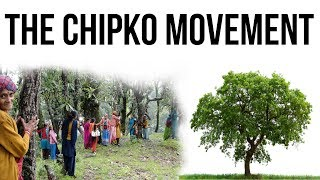 What is Chipko Movement? चिपको आंदोलन और वन संरक्षण People's Participation in Forest Conservation