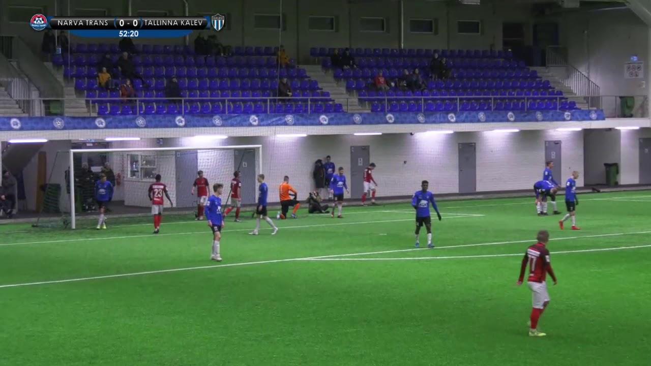 Taliturniir 2020: JK Narva Trans - JK Tallinna Kalev 1:1 (0:0)
