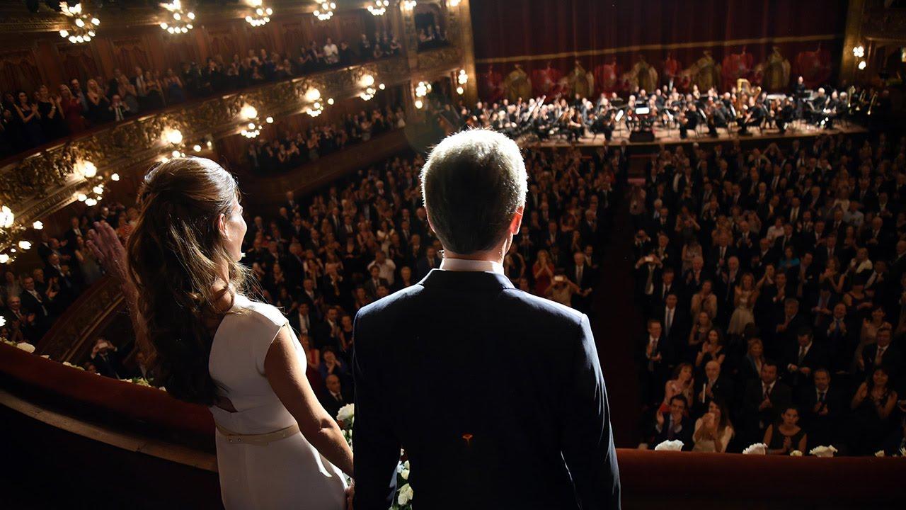Mauricio Macri  Gala Presidencial en el Teatro Coln  YouTube
