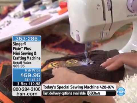 Mini Maquina De Coser 40 En 40 Estilo Singer Pixie Pluswmv YouTube Cool Singer Pixie Plus Sewing Machine Reviews