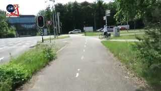 Bicycle Ride in Bussum (Netherlands)