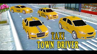Crazy Town Taxi Driver GamePlay