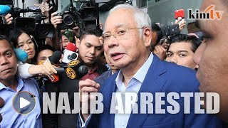 BREAKING NEWS: Najib arrested