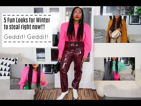 Winter Looks 2017 || How to stay warm and still Look cute and Stylish 4