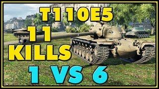 World of Tanks | T110E5 - 11 Kills - 10.3K Damage