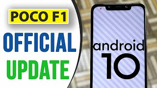 POCO F1 ANDORID 10 UPDATE | LATEST NEW FEATURES | MIUI 11.0.4 ANDROID 10