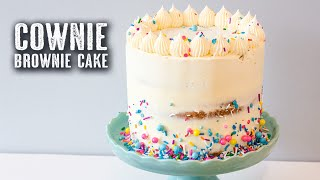 One of Topless Baker's most viewed videos: COWNIE | Brownie Cake - Topless Baker