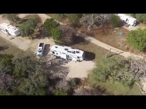 Drone Fly Over At Farm Country Rv Park Bandera Tx Youtube