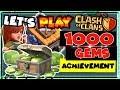 Clash Of Clans 1000 GEMS ACHIEVEMENT UNLOCKED! NEW 6th Anniversary Birthday Games Update!